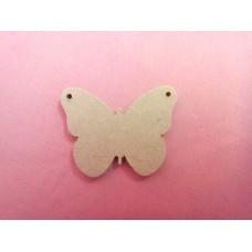 4mm MDF Butterfly 50mm